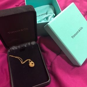 Tiffany Knot Pendant necklace (gold)